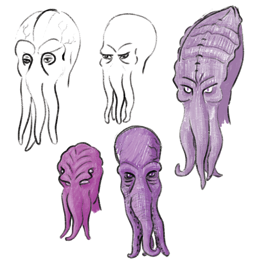 0622-Illithid Mask Concepts