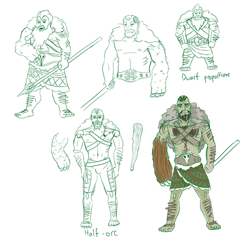 0912-erasmus-halforcdruid-sketches