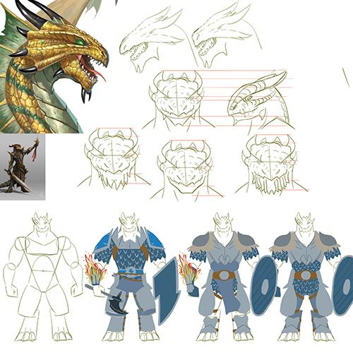 1205-valgus-dragonborncleric-sketches